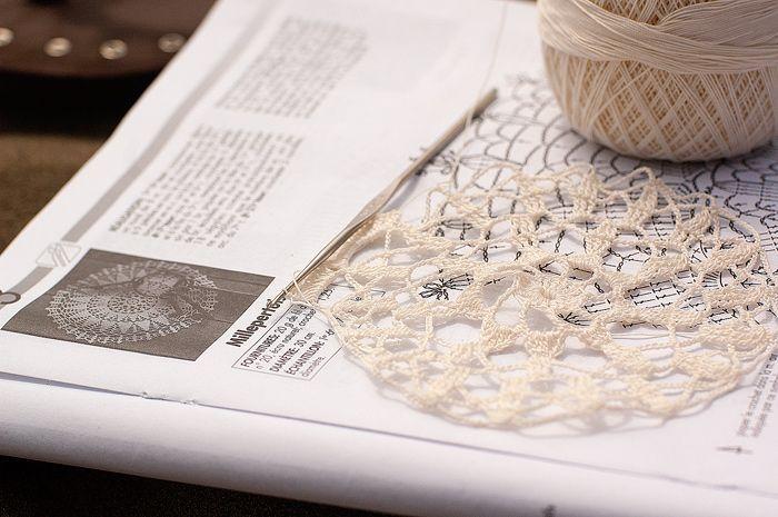 Crochet lace is on the beach.  #fibergraph #bag #crochet #accessory  #handmade