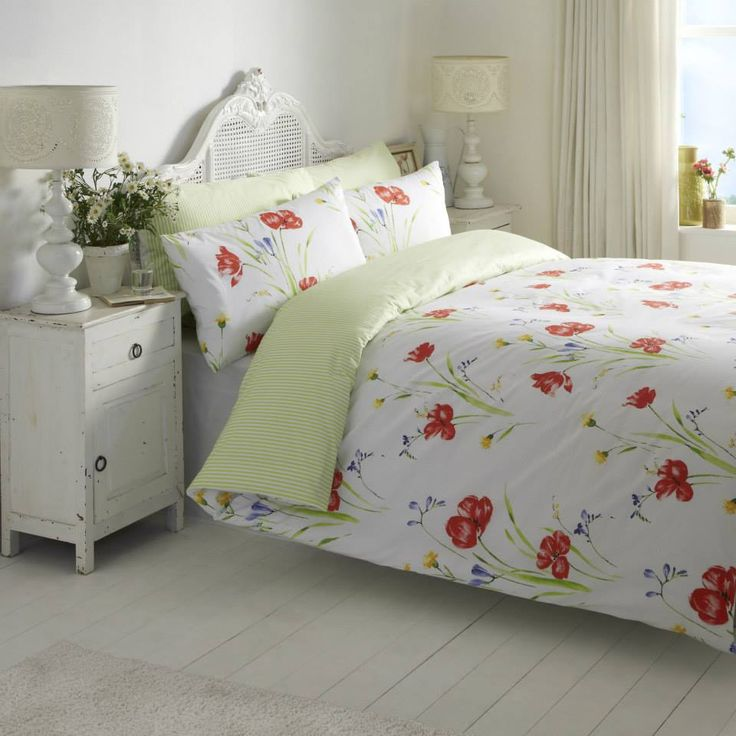 Poppy.  #vantonahome #bedding #bedlinen #home #decor #bedroom #vantona