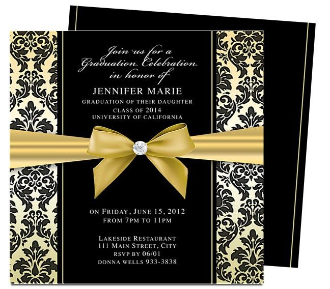46 best printable diy graduation announcements templates images on pinterest graduation. Black Bedroom Furniture Sets. Home Design Ideas