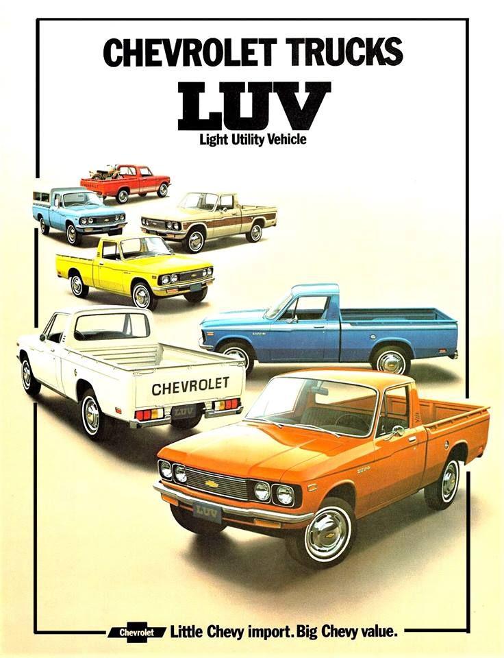 Chevrolet Luv Chevy Luv Mini Trucks Small Trucks