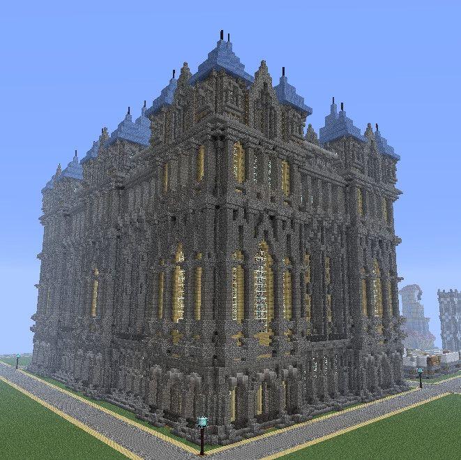 Medieval Municipal Build I created on CoffeeBreak's server