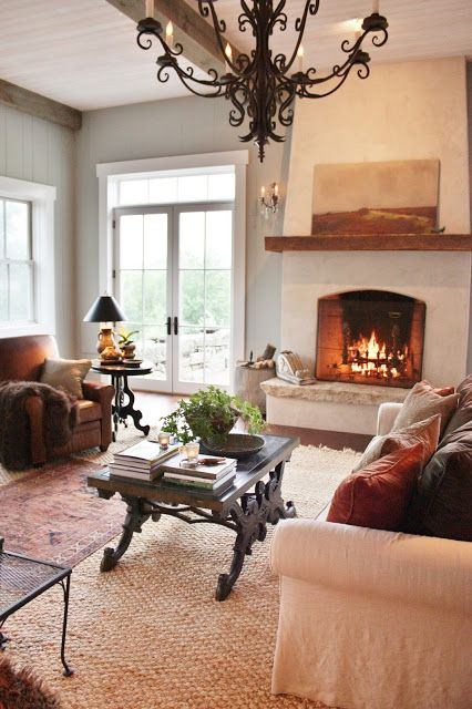 17 best ideas about white fireplace mantels on pinterest - White fireplace living room ideas ...