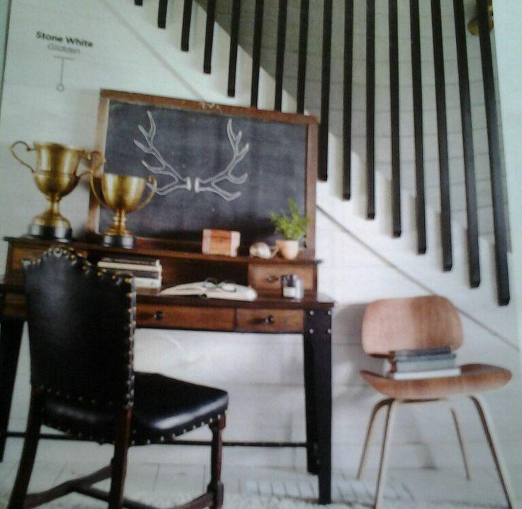 Best Stair Rails Black Tubular Metal Per Country Living 640 x 480