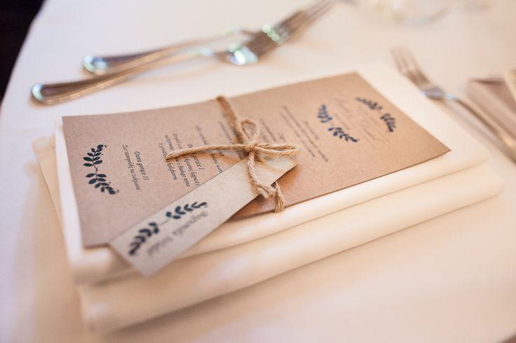 menu i winietka w stylu rustykalnym, zdjęcie wykonane przez http://www.joannanowak.pl/