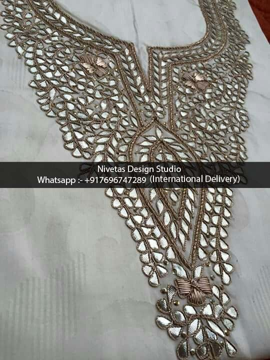 Embroidery - whatsapp +917696747289 offering Haute Couture zardozi Embroidery Services to boutiques and retail clients over seas, party wear evening parties dress embroidery work, sarees, punjabi salwar suit, gowns, lehengas, bridal outfits, kaftan and on decorative items #canada #embroidery #custommadeEmbroidery #embroidery #work #bridalLehengas, #Hand-embroidery, #custom-embroidery-work #gotta-pati-embroidery #zardozi #NivetasDesignStudio #NDS #dabka Indian Custom Embroidery Maker