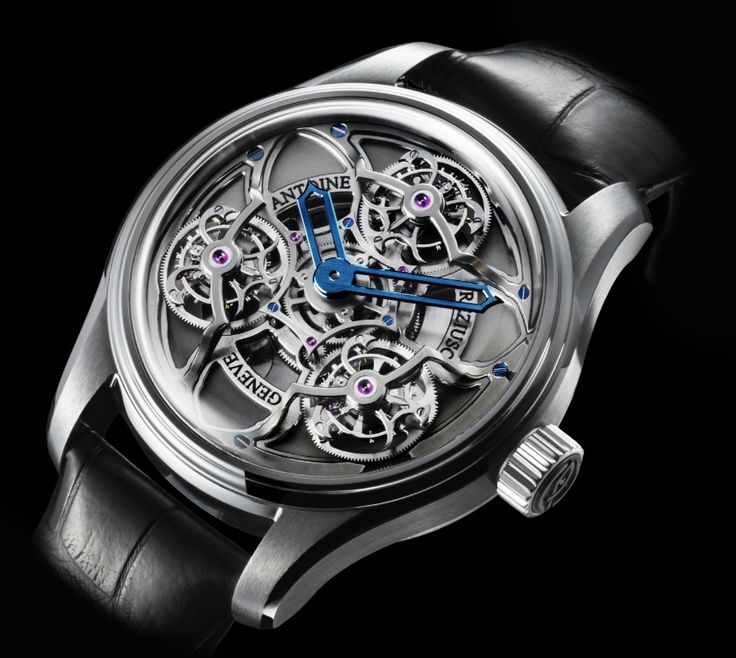 """Antoine Preziuso Chronometer Tourbillon Of Tourbillons Watch - by Kenny Yeo Learn more at: aBlogtoWatch.com """"Antoine Preziuso made a splash with their Tourbillon of Tourbillons watch, and now they have released another version with some visual changes for a look that is sleeker and a bit more contemporary. The new Antoine Preziuso Chronometer Tourbillon of Tourbillons offers a larger case to enjoy all three tourbillons..."""""""