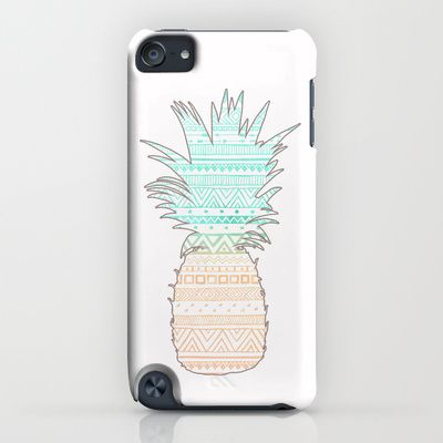 Tribal Pineapple  iPhone & iPod Case