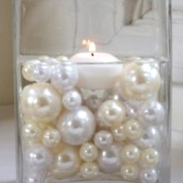 Pearl Wedding Decoration Ideas