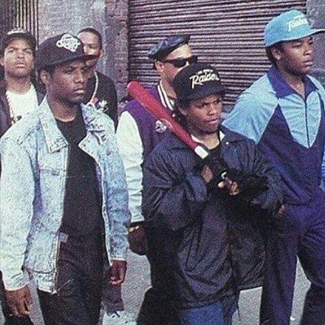 #NWA #Compton #EazyE #DrDre #IceCube #McRen #Gangsta axl by rap_music1996