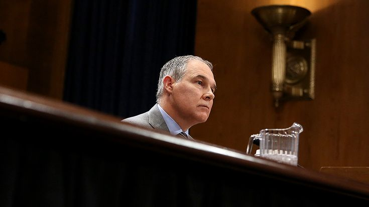 Environmental Protection Agency (EPA) head Scott Pruitt has spent much of his first year in the role taking first-class or business-class flights, totaling thousands of dollars and often at the expense of taxpayers, The Washington Post reported Sunday. http://thehill.com/homenews/administration/373372-epa-chief-frequently-flies-first-class-racking-up-travel-costs-report