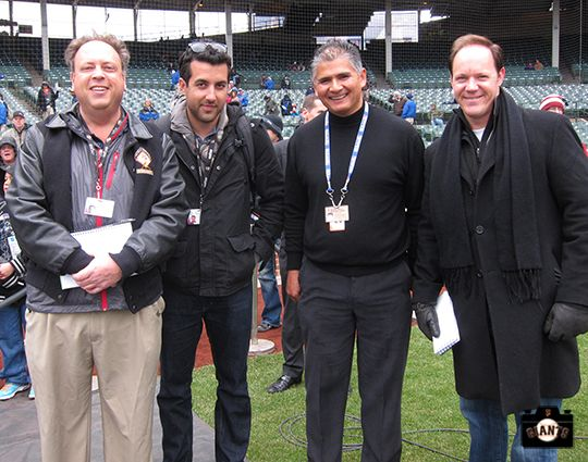 Henry Schulman, Alex Pavlovic, Chris Haft, and Andrew Baggarly. SF Giants Beat Writers