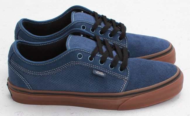 Vans Chukka Low | Navy & Gum. I don't even wear vans but these are dope.