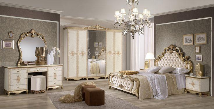 8 best bed set images on Pinterest Bed sets, Bedroom and Antique beds - schlafzimmer barock