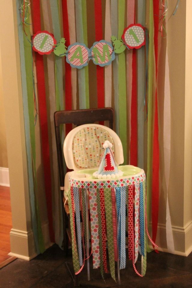 High chair for 1st birthday