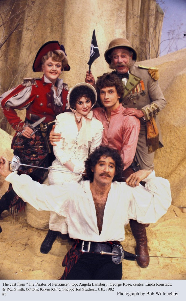 """Pirates of Penzance"", The Kevin Kline, Linda Rondstadt, Rex Smith, Angela Lansbury, George Rose, 1982"