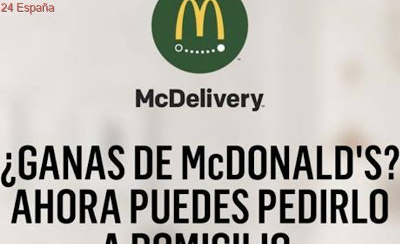 McDonald's Valencia a domicilio ya es una realidad