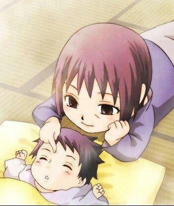 Baby sasuke and itachi. SO CUTE!!! XD   Sasuke & Itachi ...