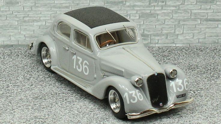 Alfa Romeo 6c 2300 Berlina Mille Miglia 1938 - Alfamodel43