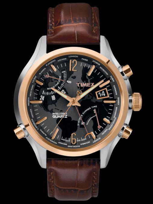 Timex.ca | Intelligent Quartz | INTELLIGENT QUARTZ™ WORLD TIME #wishlist #timex
