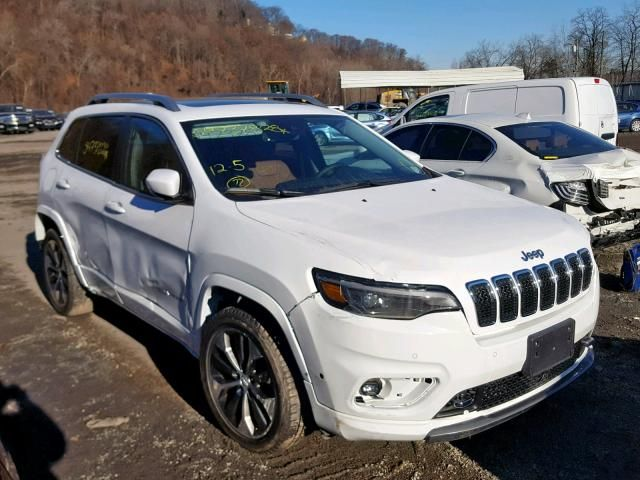 Salvage 2019 Jeep Cherokee Overland Carsales Cars Car