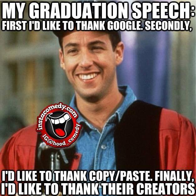 Humorous Graduation Quotes: 9 Best Speech Images On Pinterest
