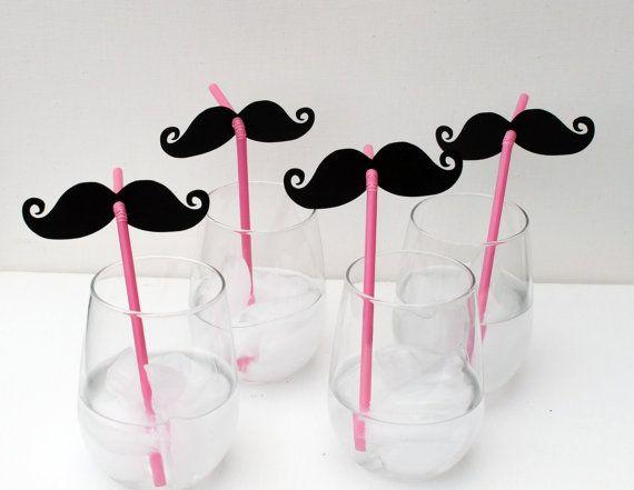 mustache straws: Mustache Party, Birthday, Moustache, Parties, Wedding, Mustache Straws, Diy, Party Ideas, Kid