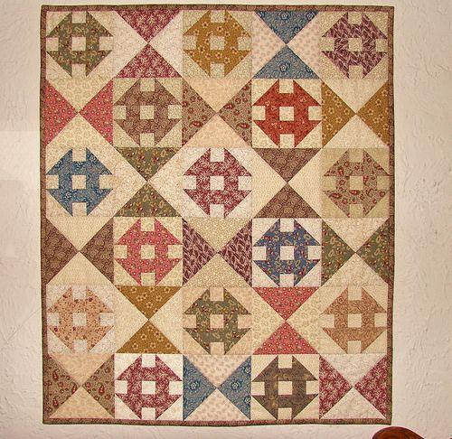 Churn Dash wall quilt   Flickr - Photo Sharing!