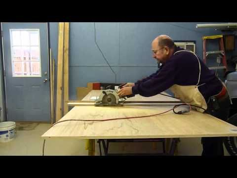 118 best circular saw images on pinterest circular saw router how to cut a piece of plywood with a skill saw it must be supported properly and the use of guide is mandatory if you want a perfect cut with a or greentooth Choice Image