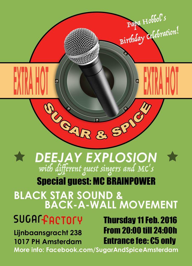 Sugar & Spice poster - 3e editie