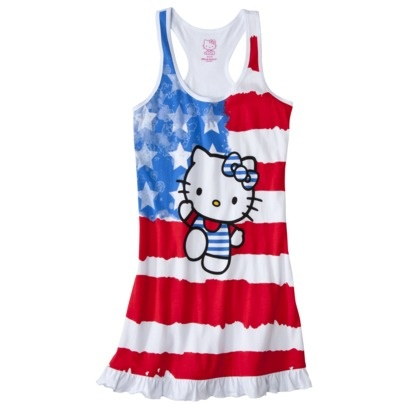 target july 4th clothing