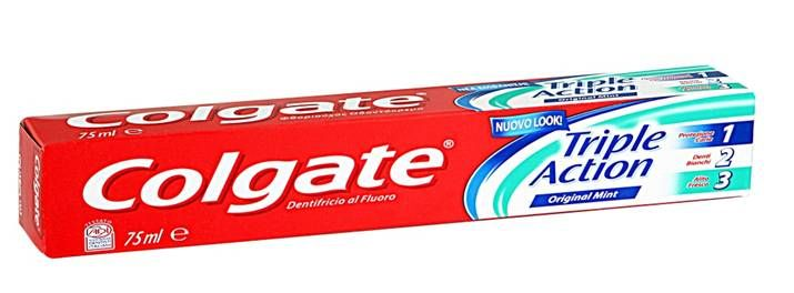 Colgate Triple Action Οδοντόκρεμα Προστασία Από Την Τερηδόνα,  Χρωματικούς Λεκέδες, Καταπολέμηση Της Δυσάρεστης Αναπνοή   75ml. Μάθετε περισσότερα ΕΔΩ: https://www.pharm24.gr/index.php?main_page=product_info&products_id=8501