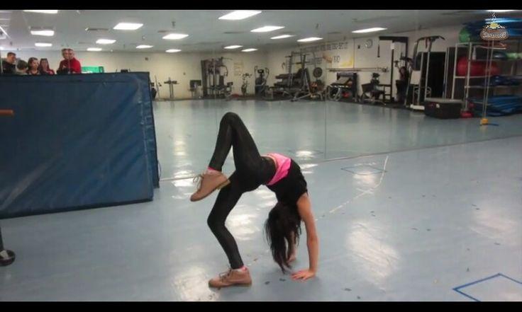 Annie the Gymnast! Instagram @presshandstands I love those shoes!!