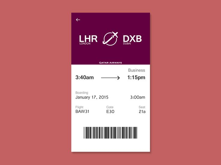 Qatar Airways boarding app - Day #02