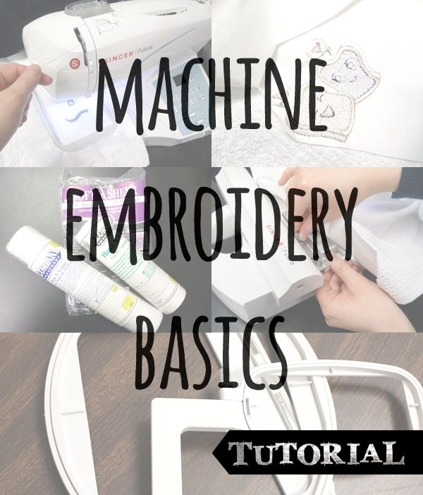 Machine embroidery basics - totally new to machine embroidery? Check this out. It may look automatic, but really there's technique, skill, proper materials, and a fair amount of voodoo involved to make it work right.  Kidding about the voodoo. Kind of.