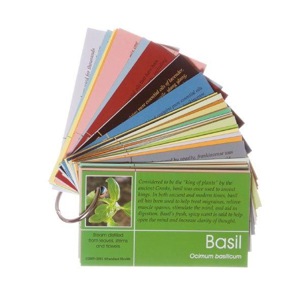 DoTERRA Pass-Along Card Set On A Ring (60 Cards