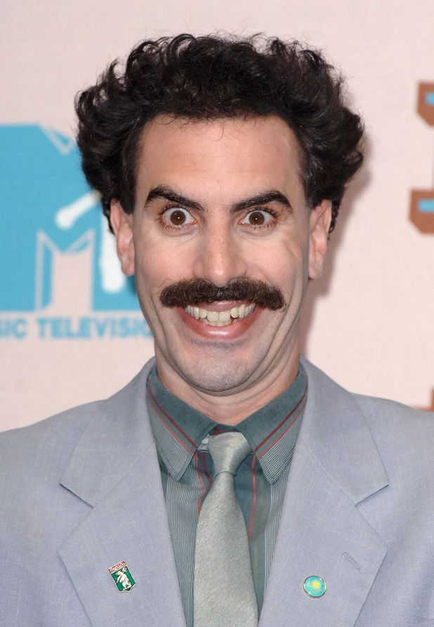 Borat's not a M.O.T., but  Sacha Baron Cohen is.