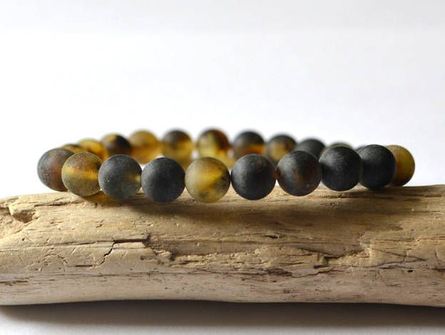 Men bracelets Mens gift for men, Mens Bracelet, Amber Bracelet, Men's Bracelet, Men's Jewelry, Amber Jewelry by KARUBA on Etsy