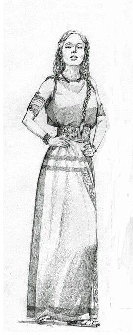 Mujer castrexa - galaica