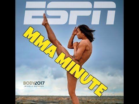 """MMA UFC's """"Karate Hottie"""" in ESPN's Body Issue"""