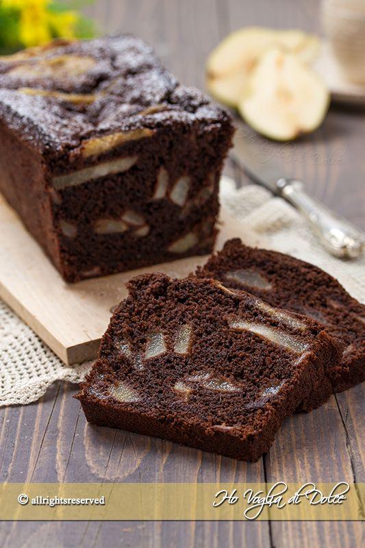 Plumcake pere e cioccolato ricetta Ho Voglia di Dolce blog
