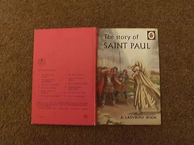 The Story of St Paul Vintage Ladybird Book