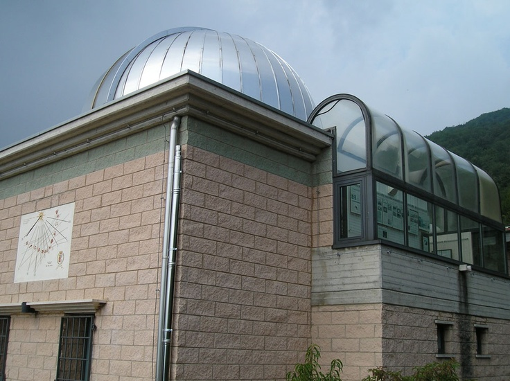 L'esterno dell'Osservatorio Astronomico