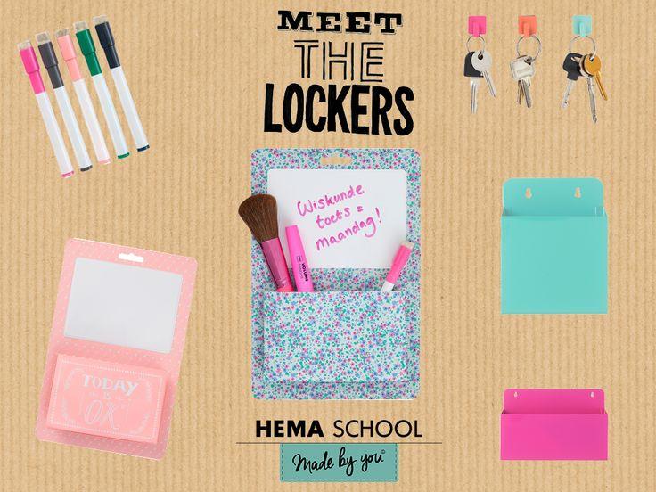 Heb jij de nieuwe HEMA locker accessoires van HEMA al gezien?