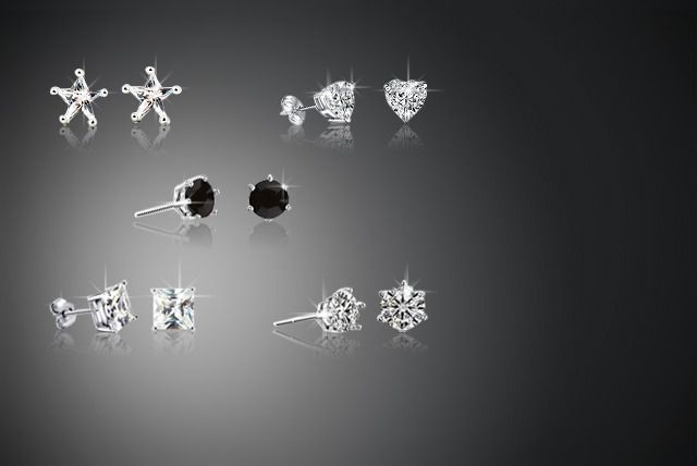 5-Piece 'Monday to Friday' Earrings Set