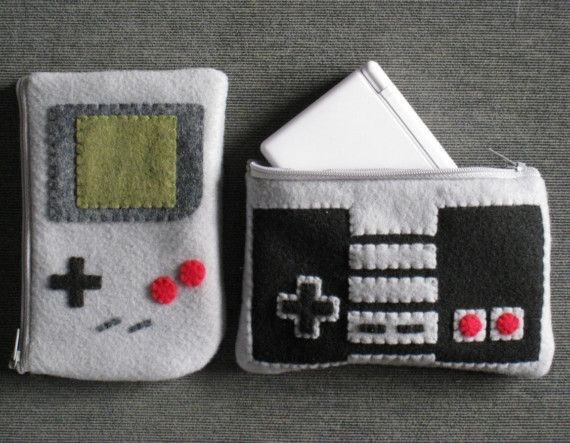 Classic Nintendo DS Lite Pouch Pack by janis13 on Etsy. $21.00, via Etsy.