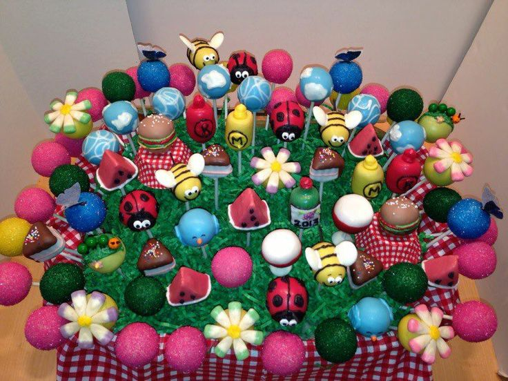 Cake Pop Decorating Ideas Uk : 38 best images about Summer Cake & Cookie Ideas on ...