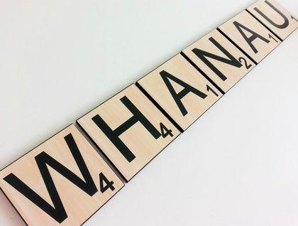 DesignA Letters Scrabble Inspired Letter Tiles... $4 per letter.