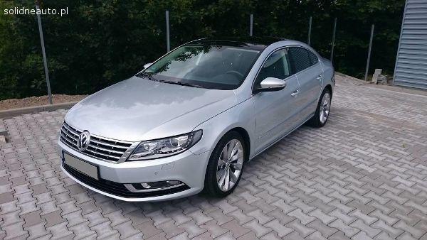 Ogłoszenia - Volskwagen - Volkswagen CC Polski salon, faktura VAT 23%, doskonały stan,