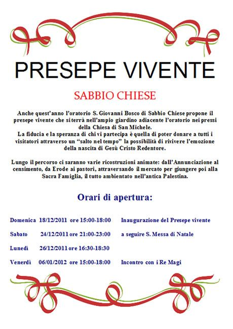 Presepe vivente a Sabbio Chiese  http://www.panesalamina.com/2011/910-presepe-vivente-a-sabbio-chiese.html