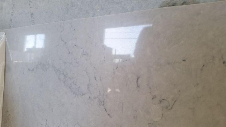 nobel grey caesarstone quartz slab